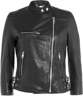 Dolce & Gabbana Leather Biker Jacket