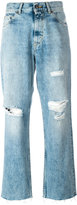 Golden Goose Deluxe Brand distressed straight jeans