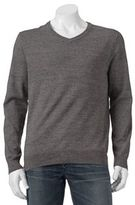 Big & Tall SONOMA Goods for LifeTM Solid V-Neck Sweater