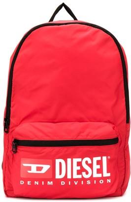 Diesel Printed Shell Backpack