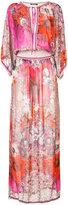 Roberto Cavalli floral printed dress
