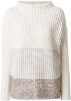 Fabiana Filippi gradient ribbed sweater