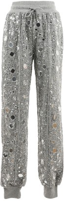 House Of Harlow Grey Cotton Trousers for Women