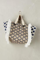 Anthropologie Criss-Cross Tote Bag