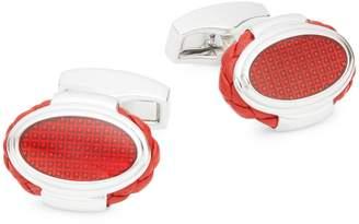Tateossian Braided Oval Cufflinks