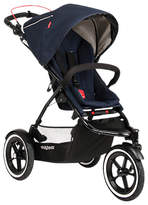 Phil & Teds Sport 2 Pushchair, Mid Blue