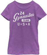 Fifth Sun Purple Berry 'Gymnastics Team' Tee - Toddler & Girls