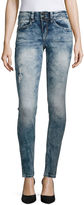 Almost Famous Slight Destructed Skinny Jeans-Juniors