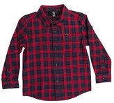 Volcom Toddler Boy's Fulton Flannel Shirt