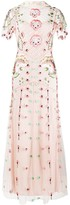 Temperley London Embroidered Tulle Gown