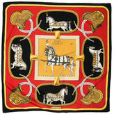 Hermes Grand Apparat Scarf