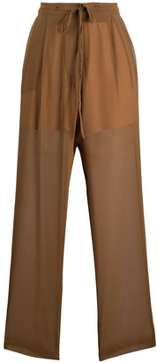 Alysi Elasticated Sheer Trousers