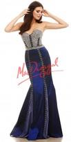 Mac Duggal Taffeta Beaded Conture Prom Dress