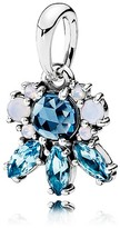 Pandora Pendant - Sterling Silver & Glass Patterns of Frost
