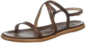 Neosens Women's S946 Restored Skin Cuero/Aurora Ankle Strap Sandals, Brown