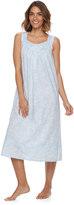 Croft & Barrow Women's Pajamas: Pintuck Long Nightgown