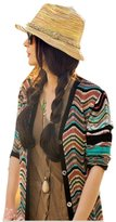 NO:1 Bohemian Style Fashion Women Summer Beach Travel Straw Hat Sun Hat