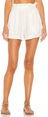 Indah Kenya Solid Linen Short