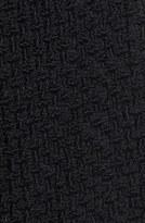 Gallery Basket Weave Walking Coat (Plus Size)
