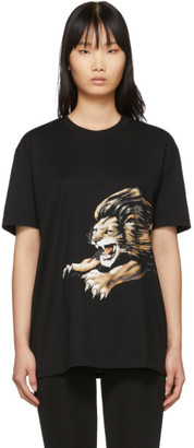 Givenchy Black Leo Signature T-Shirt