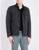 HUGO BOSS Zigzag quilted jacket