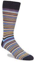 Daniel Cremieux Thin Stripes Crew Dress Socks
