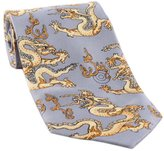 George Jimmy Chinese Style Dragon Pattern Ties Business Neckcloth Men Necktie Gift, 02