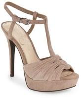 Jessica Simpson Women's 'Bassie' T-Strap Platform Sandal