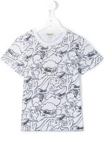 Kenzo cactus print T-shirt - kids - Cotton - 4 yrs
