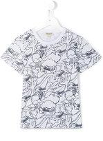 Kenzo cactus print T-shirt