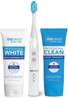 Go Smile Sonic Blue Smart Brush Whitening Kit
