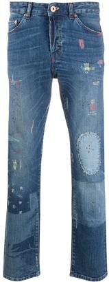 Pt01 High Rise Straight Leg Jeans