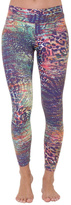 Liquido Active Tanzy Patterned Legging