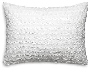 Vera Wang Linear Tucks Decorative Pillow, 15 x 20