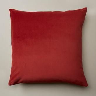 """Oui Velvet Copper Pillow Cover 20"""" X 20"""""""