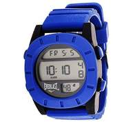 Everlast Sport Men's Digital Round Watch with Rubber Strap