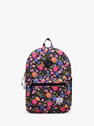 Herschel Children's Heritage Youth Garden Floral XL Backpack, Black