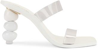 Cult Gaia Meta Heel in White | FWRD