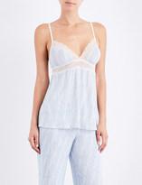 Eberjey Diamond Maze stretch-jersey pyjama camisole