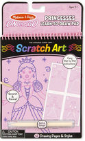 Melissa & Doug NEW Princesses Scratch Art Pad