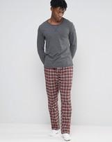 Esprit Pajamas in Check