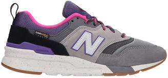 New Balance 997 Sneakers In Grey Suede And Fabric