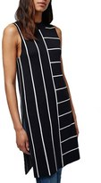 Topshop Stripe Split Hem Tunic