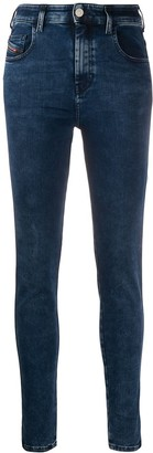 Diesel Super Skinny High-Waisted Jeans