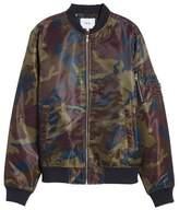 Wesc Men's The Camo Bomber Jacket