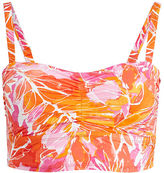 Ralph Lauren Woman Tropical-Print Bikini Top