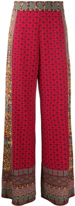 Alice + Olivia Athena wide-leg trousers