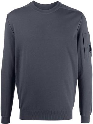 C.P. Company Lens Detail Crew-Neck Sweatshirt