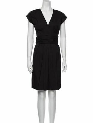 Prada Vintage Knee-Length Dress Black