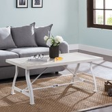 Oberon Distressed Coffee Table August Grove